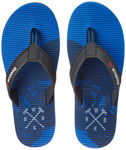 Reebok Men's Ultra Flip Awsm Blue, Coal and Sand Stone Flip-Flops and House Slippers - 6 UK/India (39 EU)(7 US)