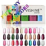 Vishine Soak-Off UV LED Gel Polish Nail Art Manicure Lacquer 8ml