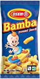 Osem Bamba Snack, Peanut ,3.5 Ounce (Pack of 12) by Osem
