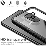 """Back Case For Galaxy S9 2018, Case Creation® Samsung Galaxy S9 Case Cover (Premium Series) Shock Proof Transparent Clear Slim Hard Back Cover For Samsung Galaxy S9 / Galaxy S9 5.8""""inch 2018 - Matte Black"""
