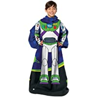 """Toy Story Being Buzz Youth Soft Throw Blanket with Sleeves, 48"""" x 48"""""""