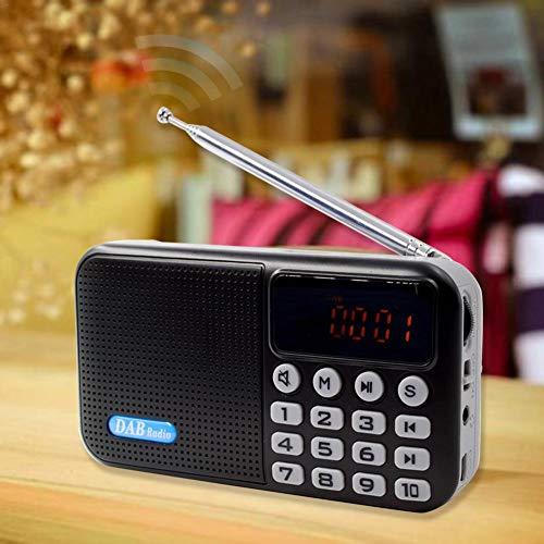 Portable Digital dab fm Radio All-in-one Portable DAB Digital Radio Bluetooth Speaker + DAB + FM + MP3