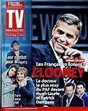 TV MAGAZINE LA NOUVELLE REPUBLIQUE [No 1251] du 22/01/2011 - LES FRANCAISES VOTENT GEORGE CLOONEY - DEVANT HUGH LAURIE ET PATRICK DEMPSEY - LEUR COMBAT POUR GREGORY / KARINE FERRI ET LAURENCE LEMARCHAL