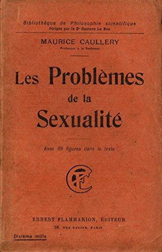 Les problèmes de la sexualité / Caullery, Maurice / Réf22375