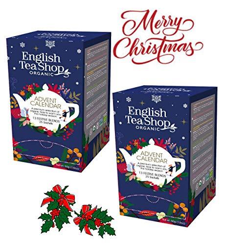 English Tea Shop Calendario Adviento 25 Tés Orgánicos