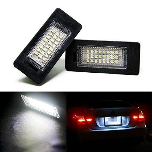 HOUSON Auto LED Kennzeichenbeleuchtung Nummernschilder Licht Weiß E39 E60 E70 E90