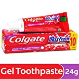 Colgate Maxfresh Spicy Fresh Red Gel Toothpaste - 22 g