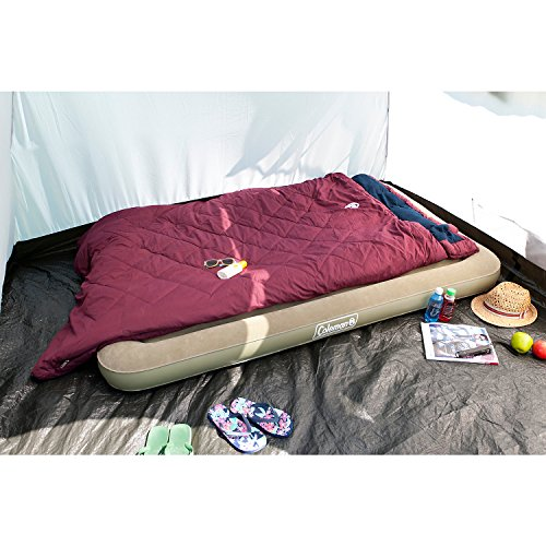 51E0eRRcfcL. SS500  - Coleman Comfort Airbed; Inflatable Air Mattress; Inflatable Bed for Tents, Caravans or for Guests at Home, Comfortable…