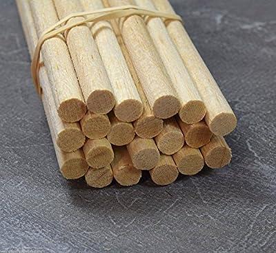 WWS BALSA DOWEL BOIS 10mm (3/8) x 9 longueurs de 12 pouces (A20)