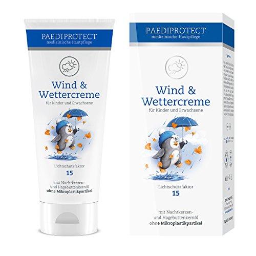 PAEDIPROTECT Wind & Wetter Creme für Babys, Kinder und Erwachsene (1x75ml) mit Lichtschutzfaktor 15 **Verbesserte Rezeptur**