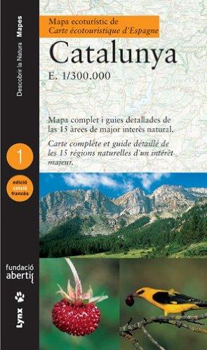 Mapa ecoturístic de Catalunya (Català/Francès) (Descubrir la Naturaleza) por Antoni Curcó Massip
