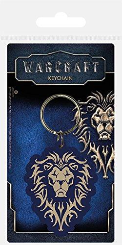 Pyramid International Warcraft der Allianz Gummi Schlüsselanhänger, Mehrfarbig, 4,5x ()