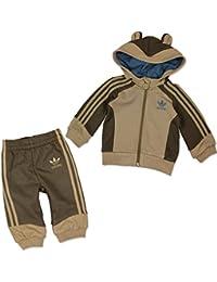 adidas Originals Kinder Anzug Hooded Flock Monkey
