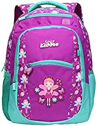 b68d5ec87cb Smily Kiddos Backpack for Kids   Smily Dual Colour Backpack   Zipper  Pockets   Pockets for