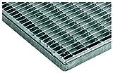 ACO Vario Maschenrost 60x40 cm 1x Gitter-Rost mit der Maschenweite (MW) 30x10 mm für außen passend zur Bodenwanne