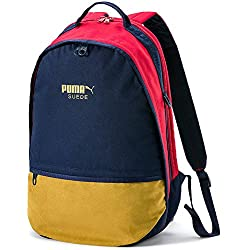 Puma Suede, Backpack Unisex – Adulto, Peacoat-Ribbon Red, OSFA