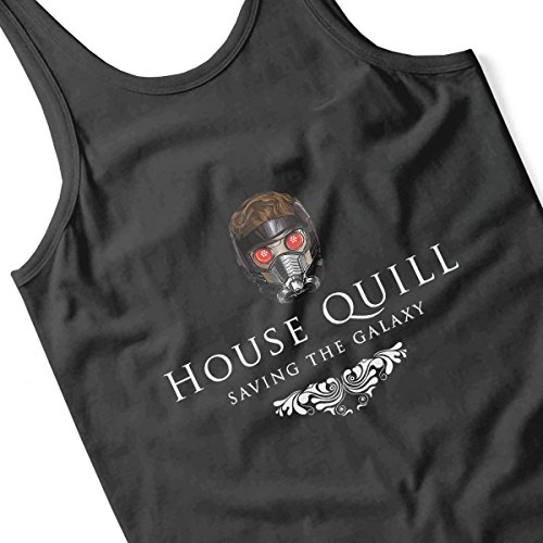 House Quill Saving the Galaxy Women's Vest Black