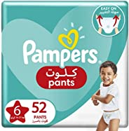 Pampers Pants Diapers, Size 6, Extra Large