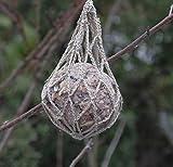 Meisenknödel - NEU - Futterspender Netz Refill gehäkelt handmade - Meisen sogar Specht + ander Wildvögel waschbar SIE KÖNNEN AUCH ANDERE FARBEN WÄHLEN