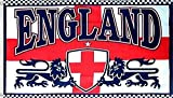 normani Fahne/Flagge Neu 90 x 150 cm Flaggen Farbe England mit Löwen