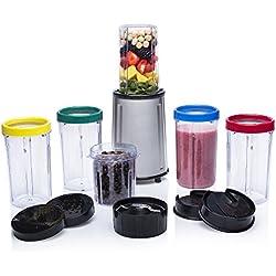 Mixeur Tristar BL-4445 - Kit complet de 17 pièces - Pour les ingrédients secs et humides