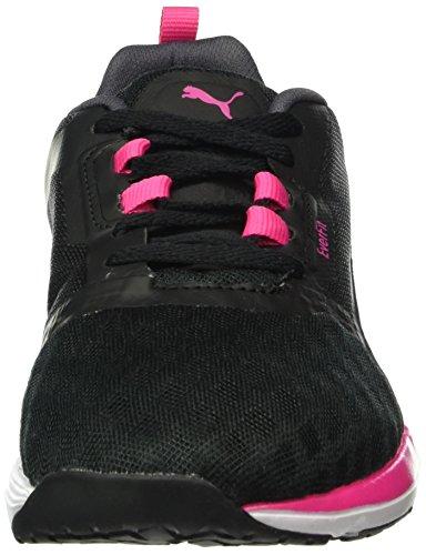 Puma - Pulse Flex Xt Ft, Scarpe fitness Donna Nero (Noir (Black/Periscope/Sharp Green))