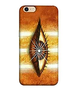 Oppo A39 Back Cover, Oppo A39 Back Case Lord Shiva Third Eye Design From Printvisa