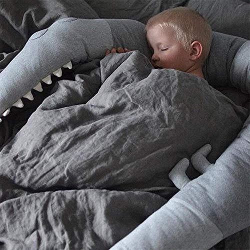 Zoom IMG-1 culla paraurti cuscino di coccodrillo