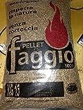 25 sacchi pellet Italiano Faggio alta qualità 100% puro faggio certificato