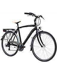 'Bicicleta Cicli Adriatica Sity 3 de hombre, estructura de aluminio, rueda de 28, cambio Shimano de 6 velocidades, 2 colores disponibles, negro