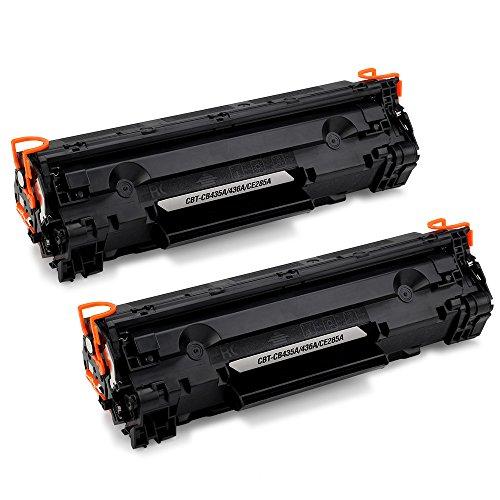JARBO Sostituito HP 85A CE285A Toner Kit 2 Nero Compatibile per HP LaserJet Pro P1102 P1102W M1210 M1212 M1212NF M1213NF M1214 M1217 M1217NFW M1130 M1132 M1134 M1136 P1100 P1104 P1104W P1106 P1108