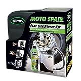 Kit ripara pneumatici moto con liquido Slime da 237ml e...