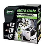 slime 10915 Reparaturset für Motorrad/ Roller- Reifen inkl. Kompressor, 237 ml