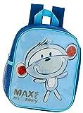 Zaino per bambini - Max the Monkey - 413 Mini zaino per bambini con petto bambini giardino custodia tracolla lo scomparto