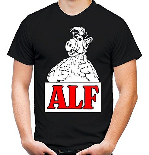 Alf Männer und Herren T-Shirt | Vintage Kleidung -