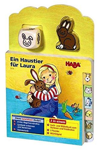 Preisvergleich Produktbild Ein Haustier für Laura (Spiel & Buch)