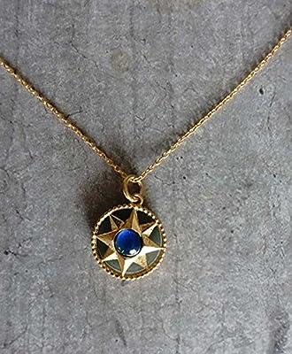 Collier avec pierre d'humeur - mood ring stone