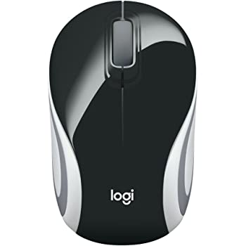 LOGITECH M187 Wireless Mini Mouse Black - WER Occident Packaging
