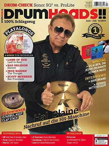 Hal Blaine Nachruf auf die Hit Maschine - Drum Test und Playalongs in der DrumHeads!!