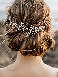 Handmadejewelrylady Kopfschmuck Braut-Haarschmuck für Damen, zur Hochzeit, Brautjungfer, Accessorries für Haare