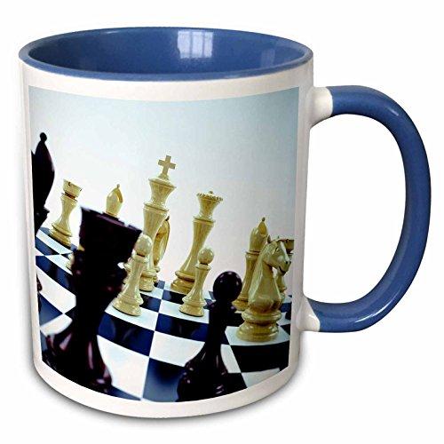 Taza de cerámica diseño de Tabla de ajedrez