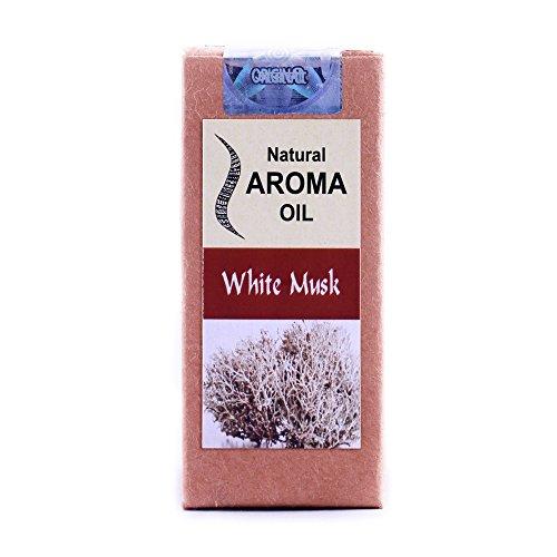 LASA weiß Moschus Aroma ätherischen Ölen 100% Pure und Natural-10ml -
