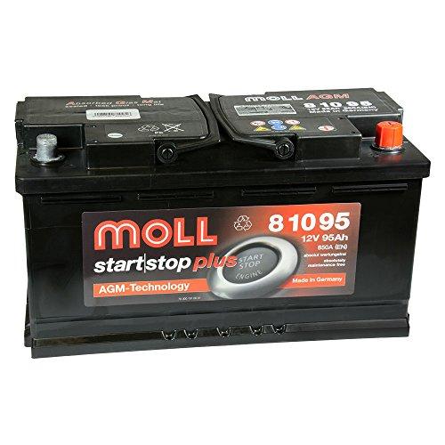 Moll Start|Stop Plus AGM 81095 12V 95Ah