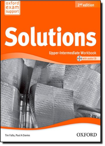 Solutions. Upper-Intermediate. Workbook and Audio CD Pack (Miscellaneous) - 9780194553681 (Solutions Second Edition) por Varios Autores