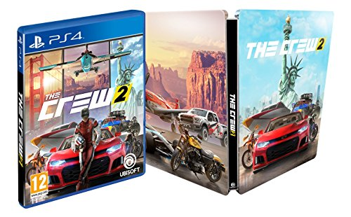 The Crew 2 - Edición Steelbook. Exclusivo de Amazon (precio: 61,99€)