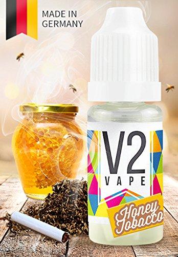 V2 Vape E-Liquid Honey Tobacco, 10ml