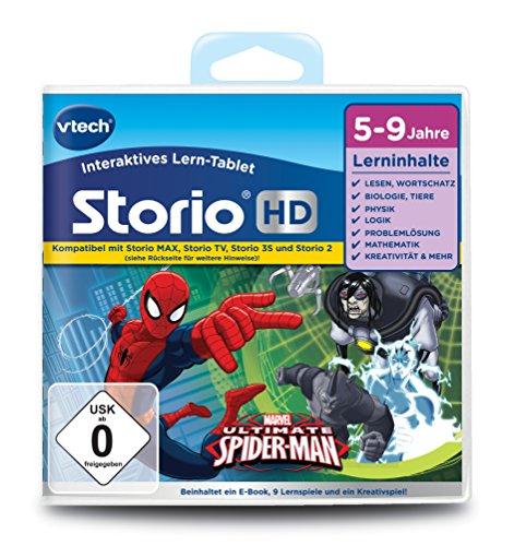 VTech 80-273004 - Lernspiel für Tablet - der ultimative Spiderman (TV) (Tv-spiele)
