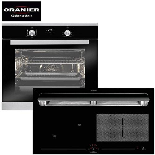 Oranier hobs Autark Inducción Combinación kxi 1092Campana recirculación aprox. 90cm de ancho,...
