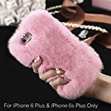 Best Iphone 6 Plus Case Luxuries - KC Soft fluffy Handmade Luxury Fur Back Case Review