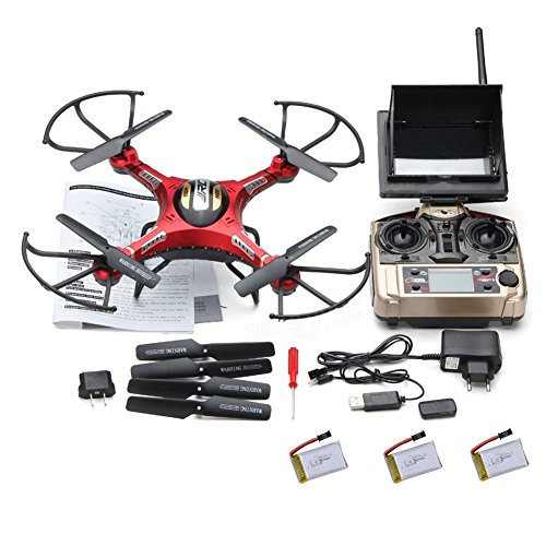 kingtoys® JRC H8D Drone Helicóptero de 4 Canales 2.4GHz Gyro RC Quadcopter...